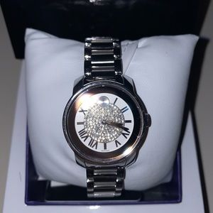 Movado bold silver woman's watch